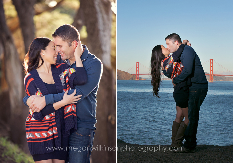 san francisco, ca engagement photographer